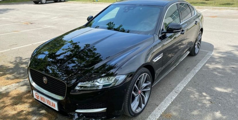 Test: Jaguar XF 2019