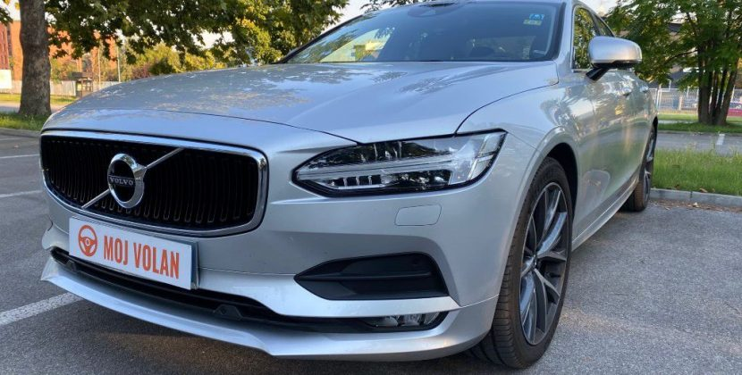 Test: Volvo S90 D4 2020